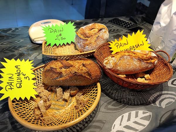 bio breads in France