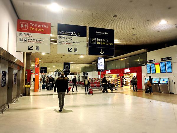 CDG第2ターミナル